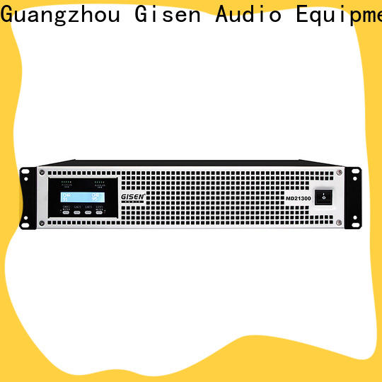 Gisen hot selling pa system amplifier overseas market for conference