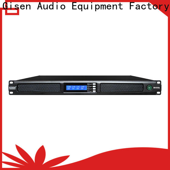 Gisen new model 4 channel amplifier series for entertainment club