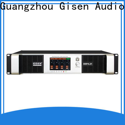 Gisen amplifier dj power amplifier supplier for stage