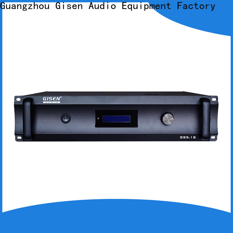 Gisen durable home theatre power amplifier order now for indoor place