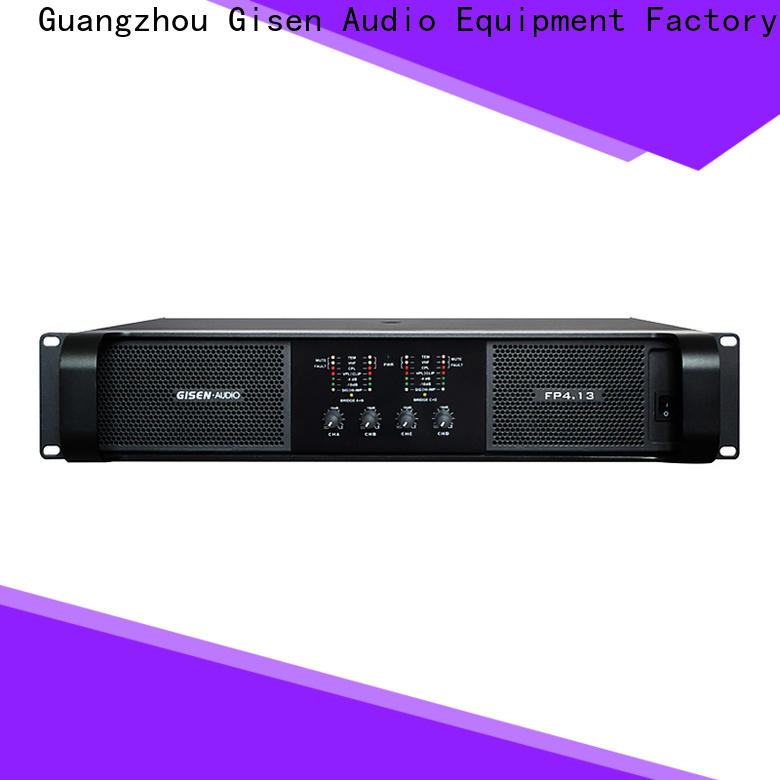 Gisen unrivalled quality compact stereo amplifier one-stop service supplier for vocal concert
