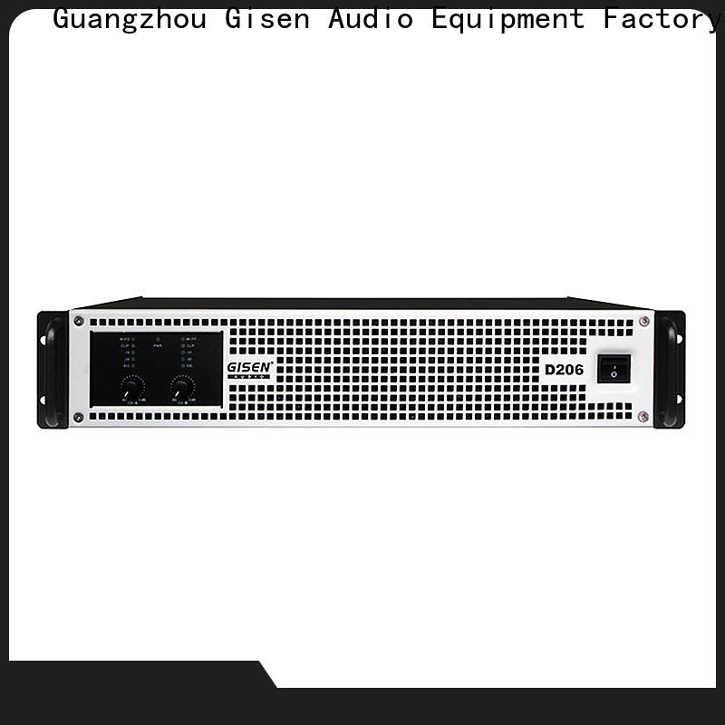 Gisen guangzhou best class d amplifier more buying choices for entertaining club