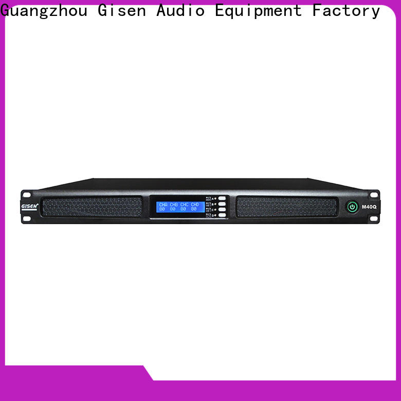 Gisen new model digital power amplifier manufacturer for entertainment club