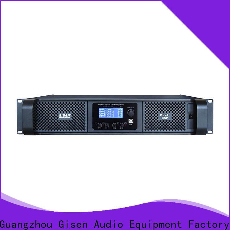 multiple functions dsp power amplifier dsp supplier for stage