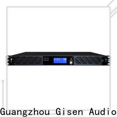Gisen amplifier 1u amplifier manufacturer for various occations