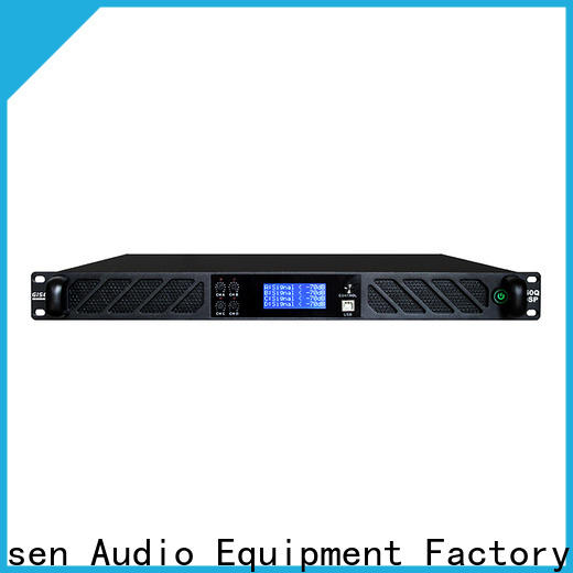 Gisen 4 channel multi channel amplifier supplier for performance