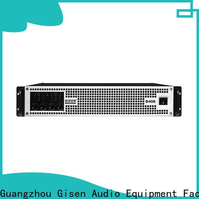 high efficiency sound digital amplifier power wholesale for stadium