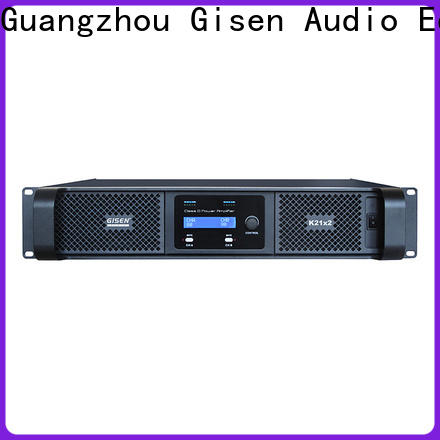 Gisen high efficiency class d amplifier wholesale for stadium