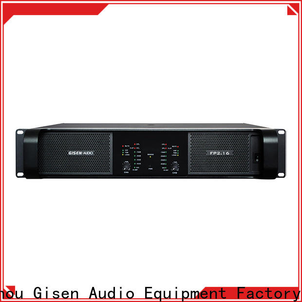 Gisen power music amplifier source now for night club