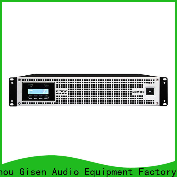 Gisen strict inspection stereo amp terrific value for conference