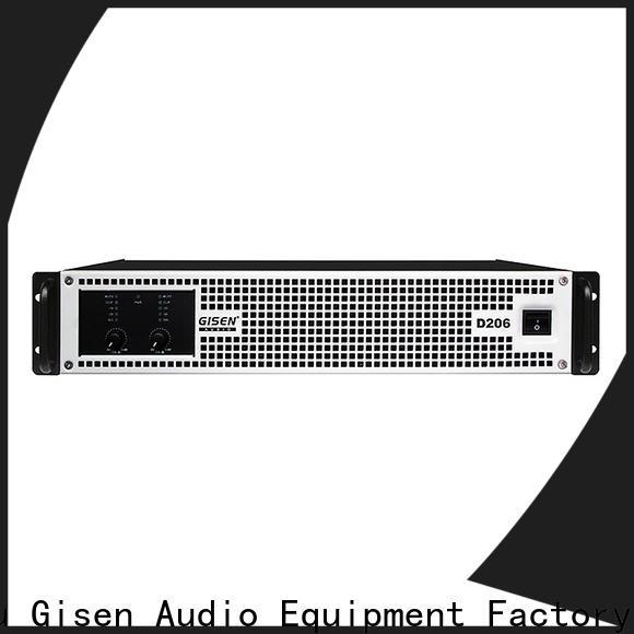 Gisen high efficiency hifi class d amplifier supplier for performance