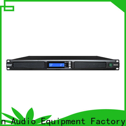 Gisen new model 4 channel power amplifier supplier for venue