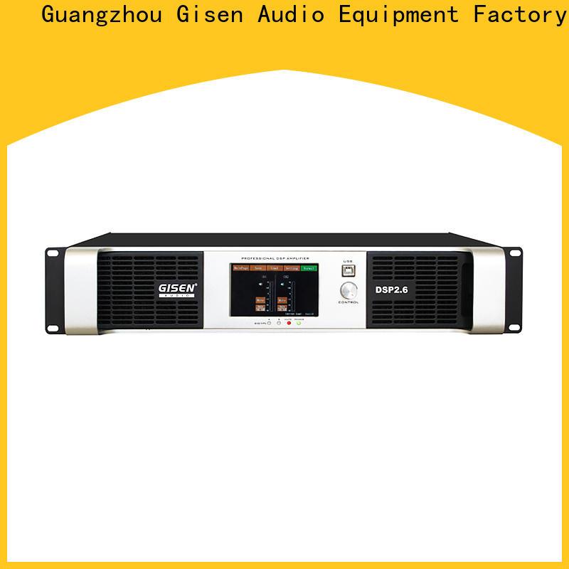 Gisen professional amplifier power supplier