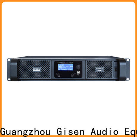 Gisen multiple functions 1u amplifier factory
