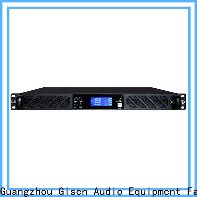 high quality multi channel amplifier power manufacturer for performance