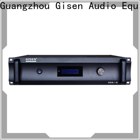 Gisen low distortion best amplifier for home fair trade for private club