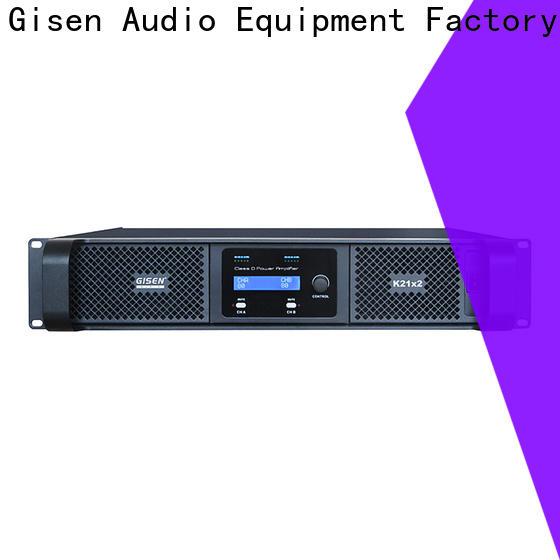 Gisen high efficiency class d audio amplifier wholesale for entertaining club