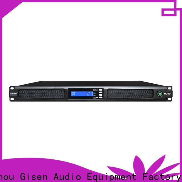 Gisen new model audio amplifier series for performance