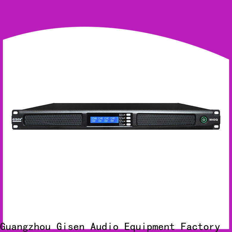 new model audio amplifier 2channel supplier for entertainment club